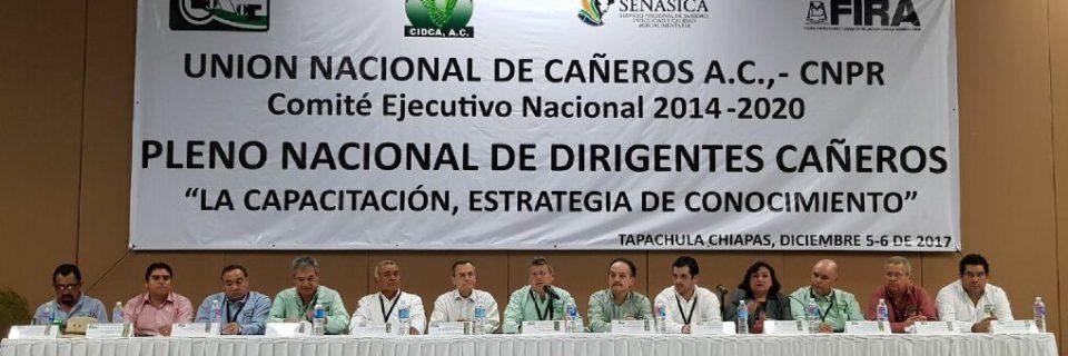 Pleno Nacional de Dirigentes de la UNC CNPR en Tapachula